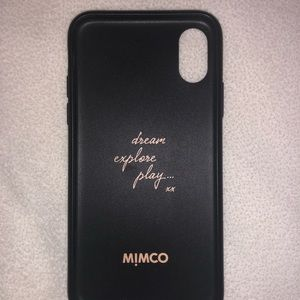 Mimco Super Hard Case for iPhone X